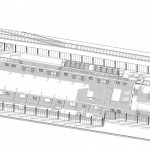 Jernbanemuseum 3D-plan