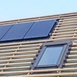 Integrerede solceller