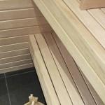 Sauna detaljer