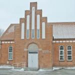 Thyholm kirkecenter eksisterende facade