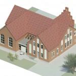 Thyholm kirkecenter tilbygning