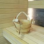 Sauna med vinkel