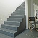 Skulpturel trappe