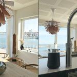 Køkkenø med udsigt